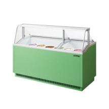 Turbo Air TIDC-70 Ice Cream Dipping Cabinet - 16.07 Cu Ft.
