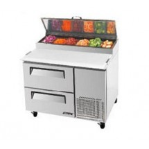 Turbo Air TPR-44SD-D2 One-Section Super Deluxe Pizza Prep Table