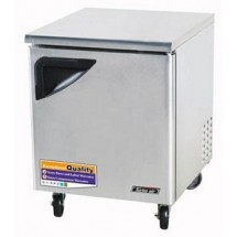 Turbo Air TUR-28SD One-Section 7 Cu. Ft. Super Deluxe Series Undercounter Refrigerator
