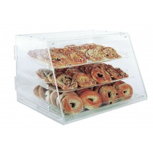 Update International APB-2117 Acrylic 3 Tray Pastry Display