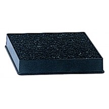 Update International DT-3545 Black Plastic Drip Tray with Sponge