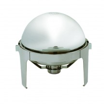 Update International EC-14N Round 6-1 / 2 Qt. Roll Top Chafer Dish