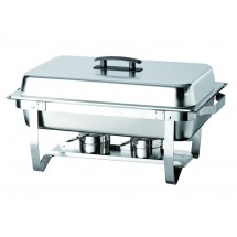 Update International ESFC-21 EZ-stor 8 Qt. Folding Chafer Dish