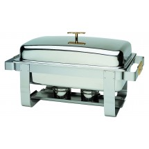 Update International GC-7 Gold Accented Grandeur 8 Qt. Chafer