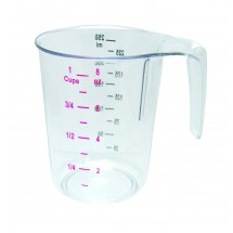 Update International MEA-25PC 1 Cup Dry PC Measuring Cup