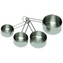 Update International MEA-Cup 4 Piece Measuring Cup Set