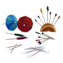 Update International PC-PAR 144-Piece Parasol Toothpicks