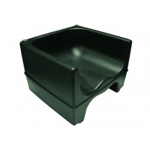 Update International PP-BC / BK Black Plastic Booster Chair