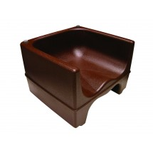 Update International PP-BC / BR Brown Plastic Booster Chair