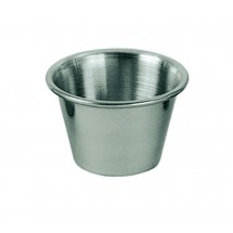 Update International SC-25 Stainless Steel 2.5 Oz. Sauce Cup