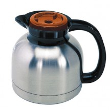Update International SE-19X / OR Super-Serv Stainless Steel 1.9 Liter Decaf Coffee Server