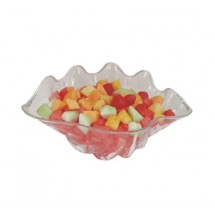 Update International SSB-1C 1 Qt. Clear Shell Salad Bowl