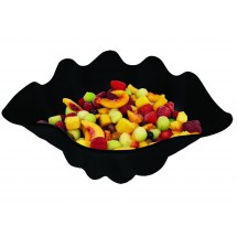 Update International SSB-5B 5 Qt. Black Shell Salad Bowl