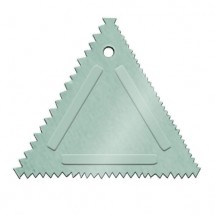 Update International TDC-AL Triangular Decorating Comb