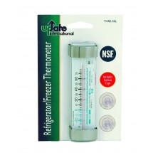 Update International THRE-50L Glass Tube Refrigerator Thermometer