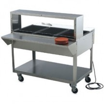 Vollrath 38093 Stainless Steel Plate Rest 46 1/2