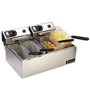 Vollrath 40708 Countertop Electric Fryer With 2.5 kw 220V