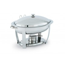 Vollrath 46500 Stainless Steel High Mirror Finish Oval Chafer