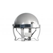 Vollrath 46530 Stainless Steel Retractable Round Roll Top Chafer