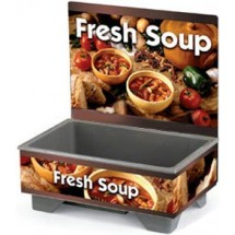 Vollrath 720200103 Full Size Soup Warmer Base Unit With Country Kitchen Graphics