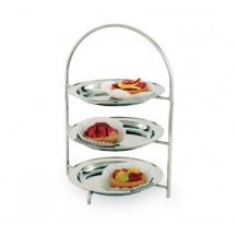 Walco 583L Tea Stand, Three-Tier Tray Stand