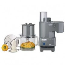 Waring FP40C 4 Quart Continuous Feed Commercial Food Processor