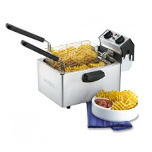 Waring WDF75RC 8 1 / 2 lb. Countertop Deep Fryer