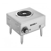 Wells H33-120V Spiral Electric Single Burner Hotplate with 4