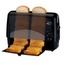 Westbend 78224 Quick Serve Black Toaster
