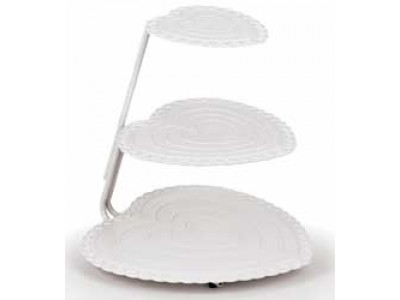 Wilton 307-872 3 Tier Floating Heart Cake Stand
