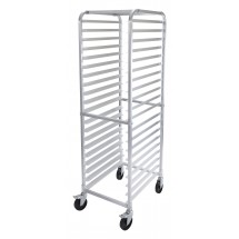 Winco ALRK-20BK  20 Tier Rack with Brakes