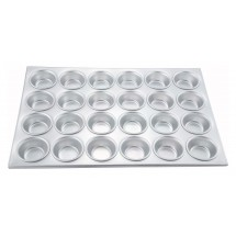 Winco AMF-24 24 Compartments Alum Muffin Pan