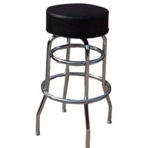 Winco BC-1K Seat Bar Chair with 2 Rings