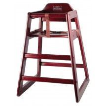 Winco CHH-103 Mahogony Hi-Chair