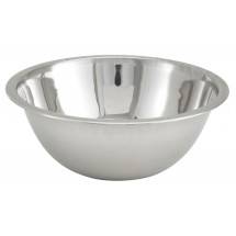 Winco MXB-400Q 4 Qt Stainless Steel Mixing Bowl