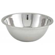 Winco MXB-75Q Stainless Steel 3/4 Qt. Mixing Bowl