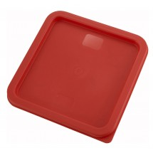 Winco PECC-68 Red 6 & 8 Qt. Container Cover