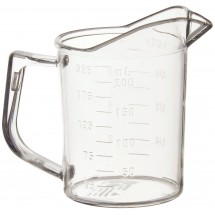 Winco PMU-25 1 Cup Measuring Cup