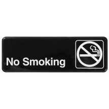 Winco SGN-310 NO SMOKING Information Sign