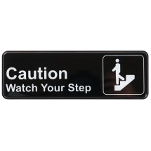 Winco SGN-326 CAUTION/WATCH YOUR STEP Information Sign