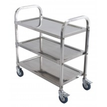 Winco SUC-30 3 Tier Stainless Trolley