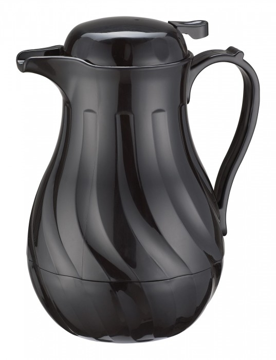 Winco VSW-20K 20 oz. Black Beverage Server