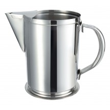 Winco WPG-64 Stainless Steel Water Pitcher With Guard
